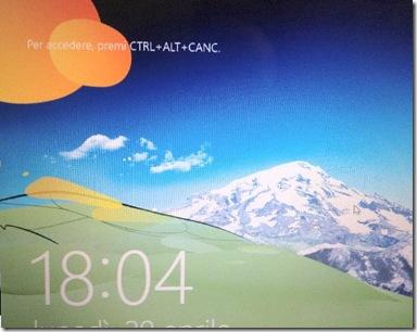 Windows 8 Per accedere, premi CTRL+ALT+CANC