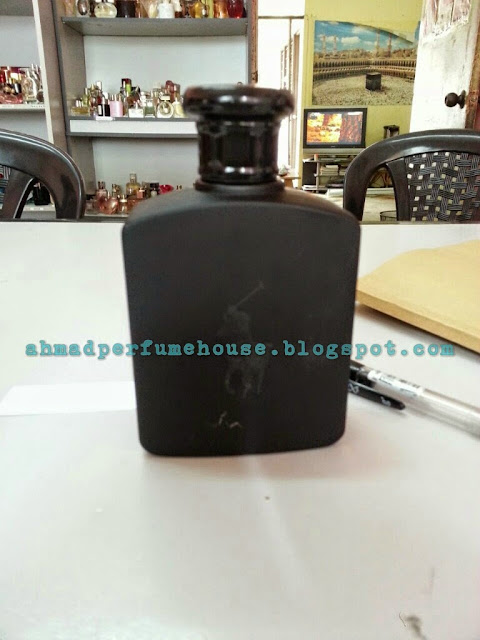 Original reject perfume Polo Double Black 125ml for men