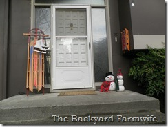 pumpkin snowman - The Backyard Farmwife