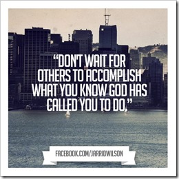 God's calling for you