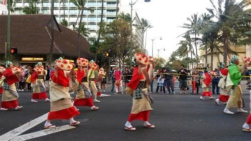 ハワイで踊る遊ぶ