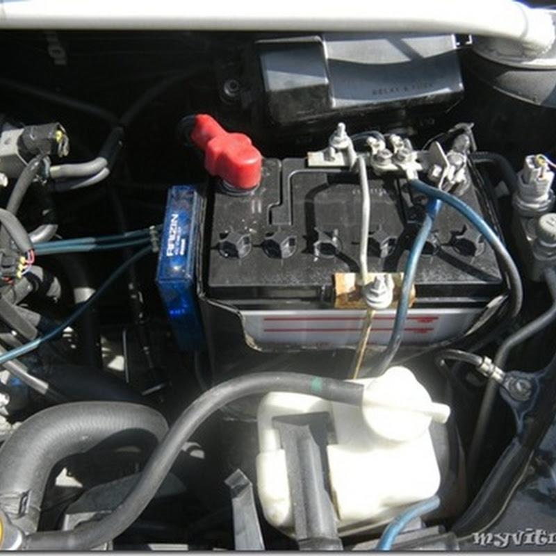 Kos Tukar Bateri Kereta Myvi | Bateri Sel Kering atau Sel Basah