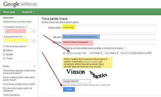 adwords-tool-parole-chiave