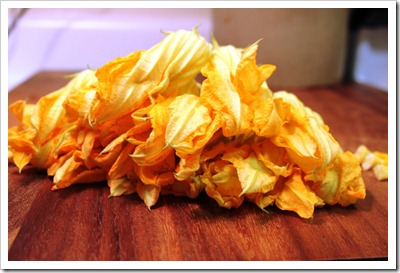 squash blossom for quesadillas