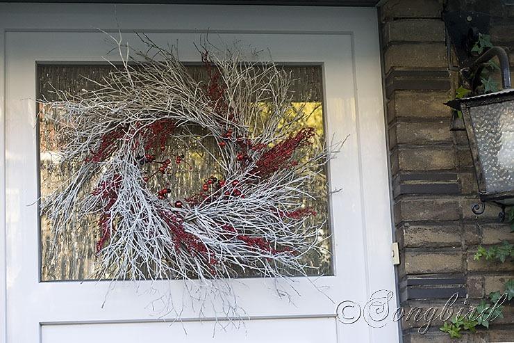 Songbird Christmas Wreath 3