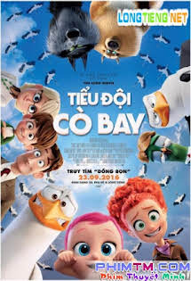 Tiểu Đội Cò Bay - Storks