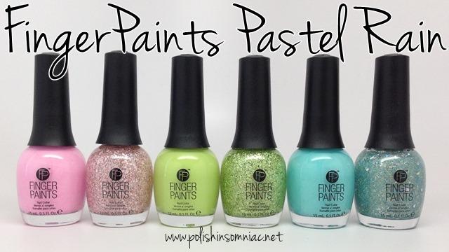 FingerPaints Pastel Rain ♥ Swatches and Review