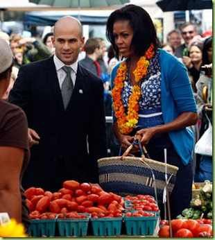 Michelle Obama Visits New Farmers Market Washington qUPXY-Yql5ql