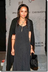 MIAMI BEACH, FL - DECEMBER 03: Zoe Kravitz attends the Porsche Design x Thierry Noir Art Basel Miami Beach Event at The Temple House on December 3, 2013 in Miami Beach, Florida.  (Photo by Neilson Barnard/Getty Images for Porsche Design)