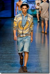 D&G Menswear Spring Summer 2012 Collection Photo 9
