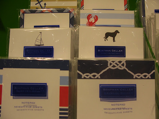 Love the Boatman Geller pads. You can personalize with your bridal party names. A perfect gift or great for thank yous!