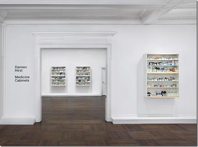 Damien Hirst – Medicine Cabinets, New York 1997