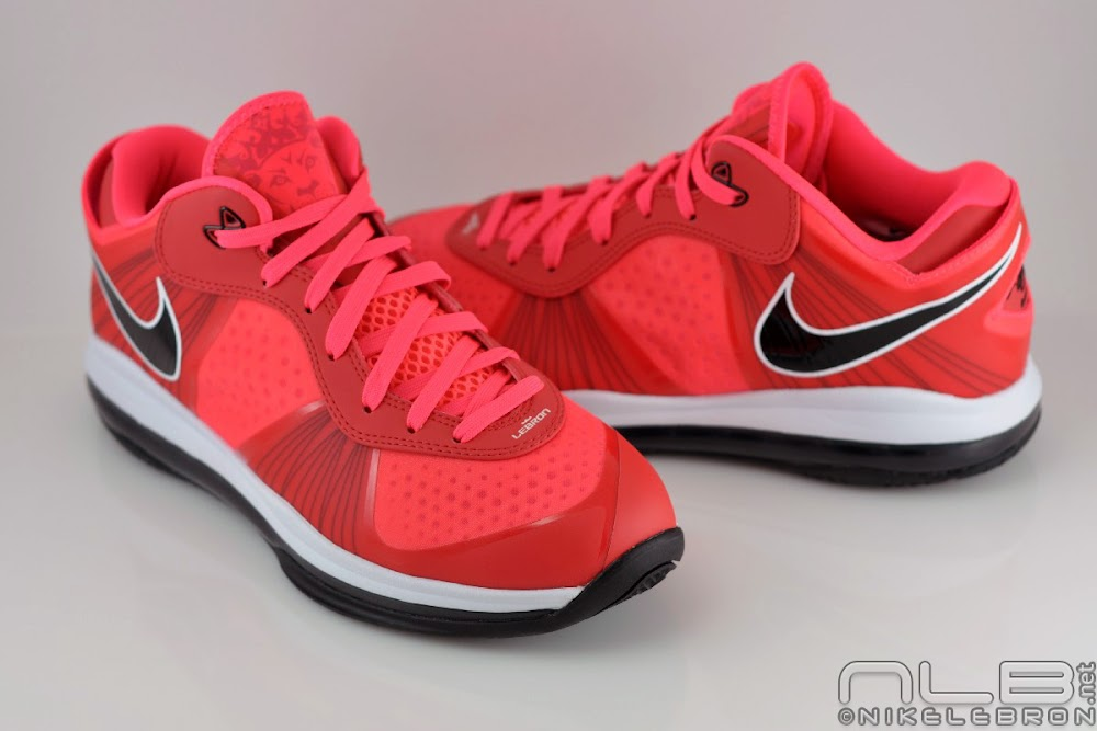 lebron 8 low red - photo #17