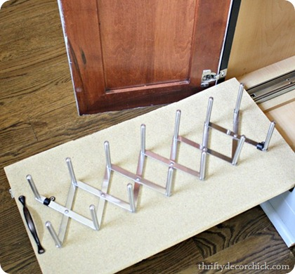 DIY roll out drawer