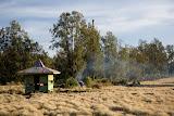 Argopuro campsite near ruins of hotel (Heinz von Holzen, October 2007)