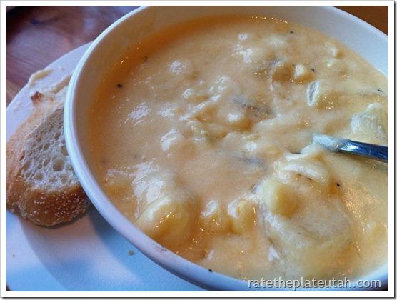 Molly's Potato Corn Chowder White Artisan Bread
