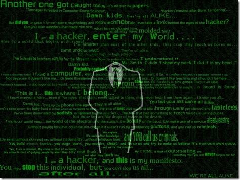 poze desktop - hacker