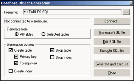 Informatica generate target SQL