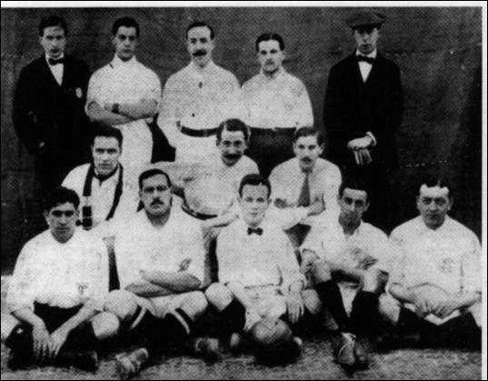 Equipo del Sevilla en 1910