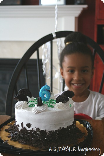 Cadie's 6th birthday, MISC 190