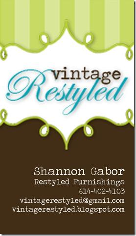 Vintage Restyled Business Card (2)