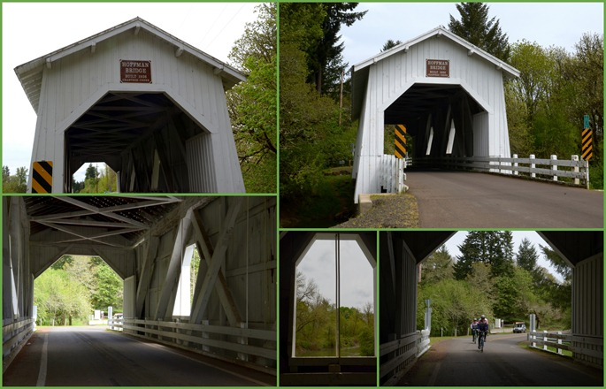 Hoffman Covered Bridge near Crabtree