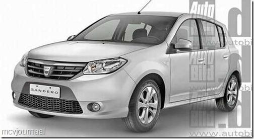 Dacia Logan en Sandero 2013 02