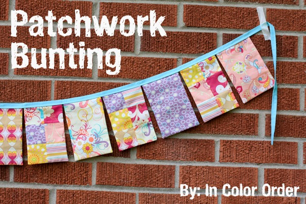 Patchwork Bunting Tutorial