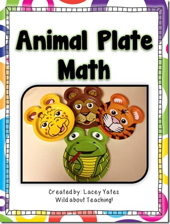 Animal Plate Math