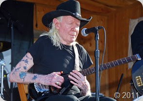 JAY WEBSTER PHOTO<br /><br />Blues guitar legend Johnny Winter during his Fathers Day appearance at Peconic Bay Winery.