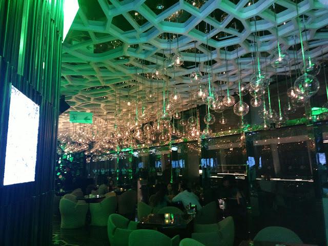 Interiors of Ozone, Ritz-Carlton , Hong Kong