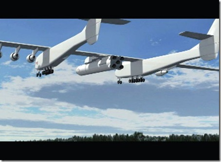 cel mai mare avion-stratolaunch system