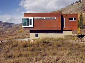 Fachada Residencia Cemento Creek
