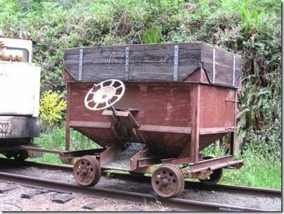 IMG_6623 BYCX Ballast Cart at Moulton Falls on May 27, 2007