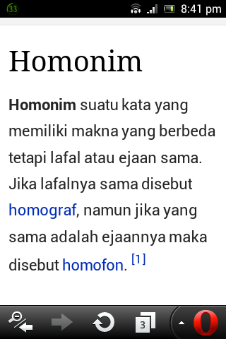 Contoh Homonim Adalah How To Aa