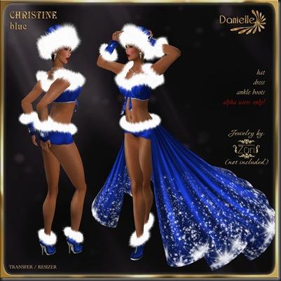 DANIELLE Christine Blue'