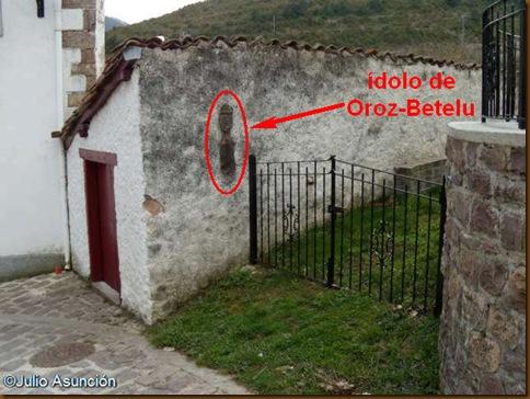 Localización idolo Oroz-Betelu