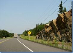 8324 Ontario Trans-Canada Highway 17 - deer warning sign