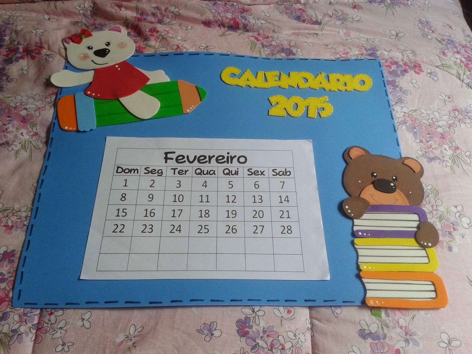 Amado Pedagógiccos: Calendário para minha sala FQ01