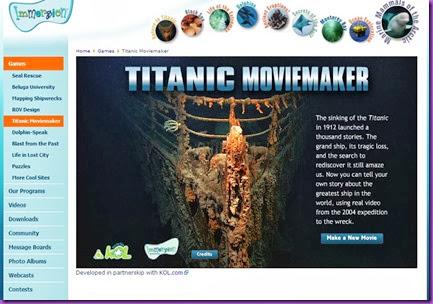 titanic movie maker
