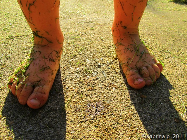 blake's grassy toes