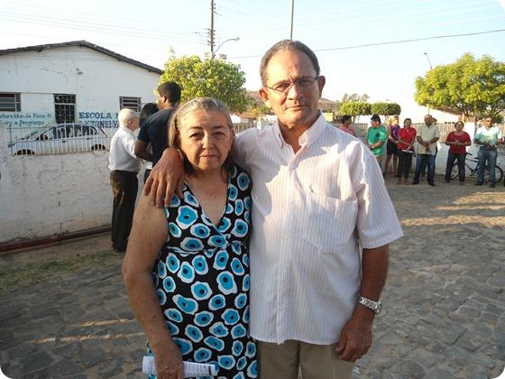 Sr. Joaquim e Dona Maria - Colaboradores da Paróquia São Francisco de Assis
