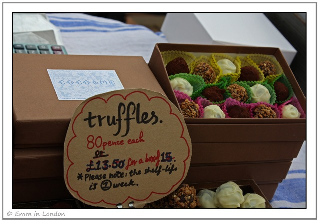 Truffles by Coco and Me at Broadway Market