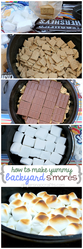 how to make backyard smores #shop #collectivebias
