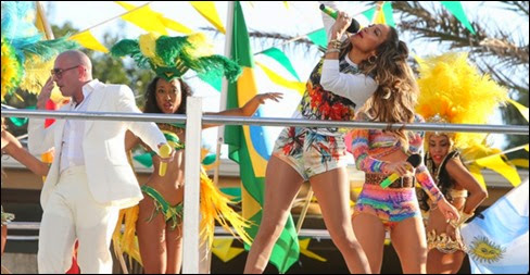 Ver Online Jennifer López reconsidera decisión y cantará en apertura del Mundial Brasil 2014 (HD)