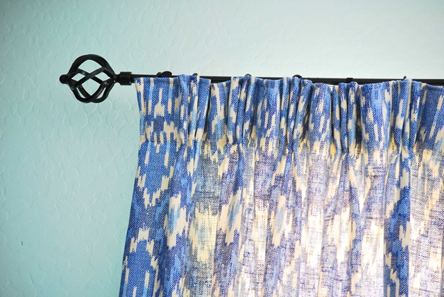 Triple pleat curtains 2