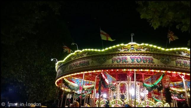 Southbank Christmas Market Carousel