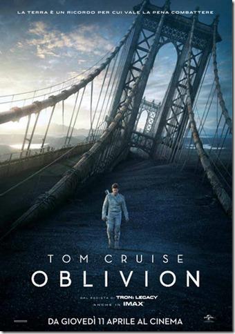 Oblivion – il potere dell'audiovisivo