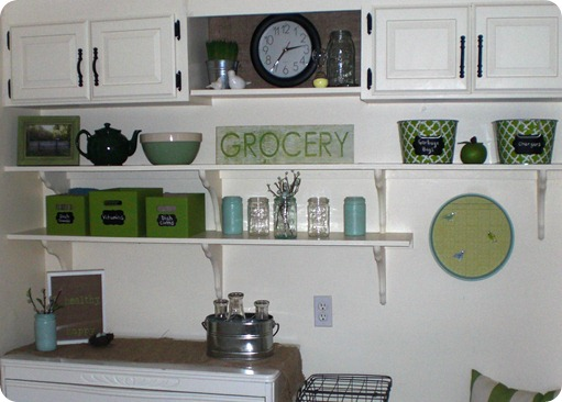 Kitchen Shelving Transformation