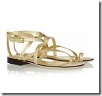 Emilio Pucci Metallic Sandals